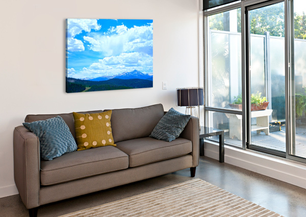 PAINTED SKIES OVER THE SAWATCH 360 STUDIOS  Canvas Print