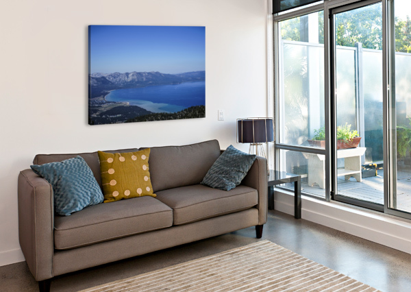 LAKE TAHOE VIEW 360 STUDIOS  Canvas Print