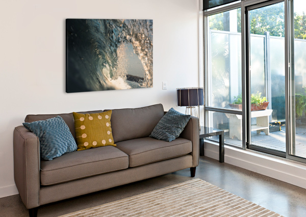 CRYSTAL WAVE DOM GRANGER PHOTOGRAPHY  Canvas Print