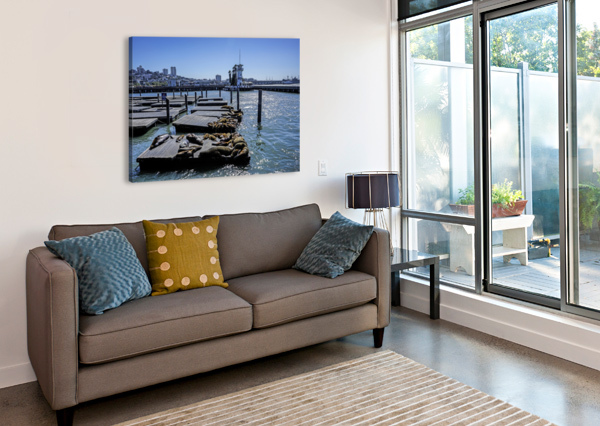 THE WHARF @ SAN FRANCISCO 24  Canvas Print