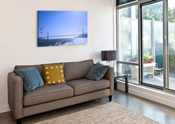 WIND SURF THE BAY @ SAN FRANCISCO 1NORTH  Canvas Print