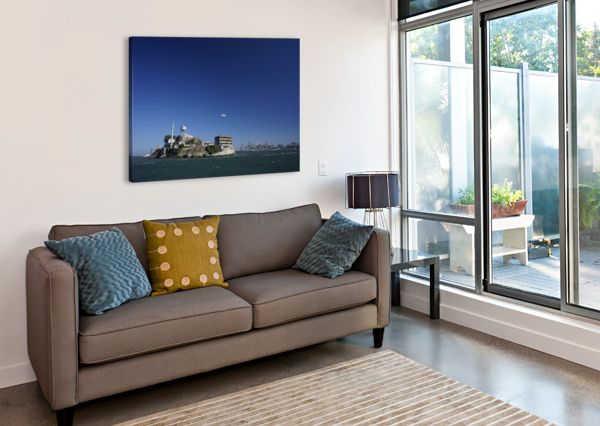 ALCATRAZ   THE ROCK @ SAN FRANCISCO BAY 1NORTH  Canvas Print