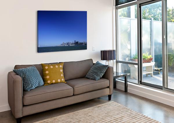 THE BAY @ SAN FRANCISCO 1NORTH  Canvas Print