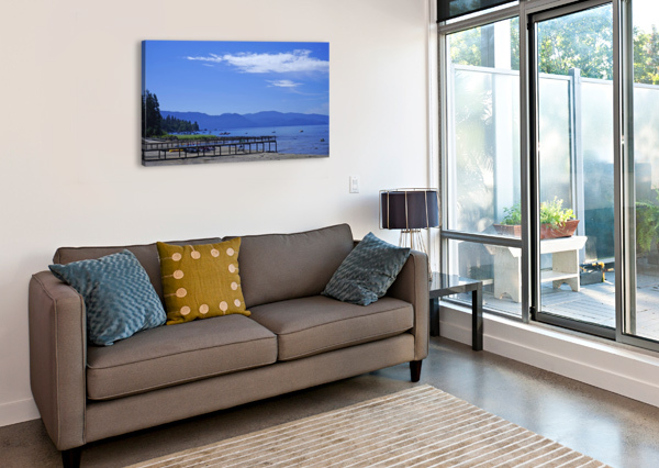 SPRING AT LAKE TAHOE 1 OF 7 24  Canvas Print