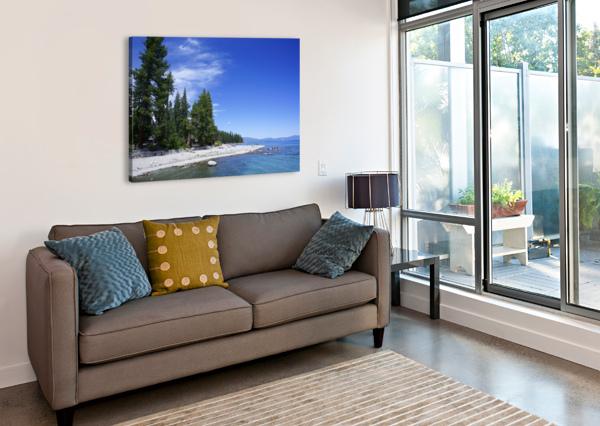 SPRING AT LAKE TAHOE 2 OF 7 24  Canvas Print