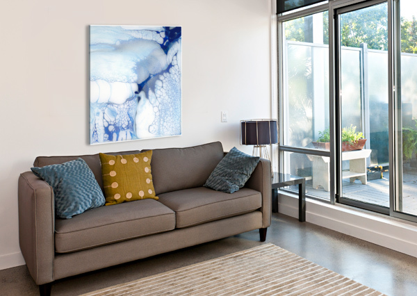 THE UNDOING CARLA WHITE  Canvas Print