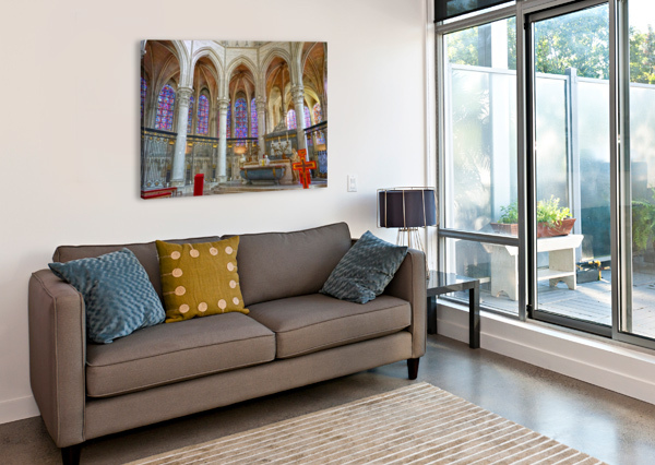 IMMORTAL CATHEDRALE SAINT ETIENNE 5 OF 6 24  Canvas Print