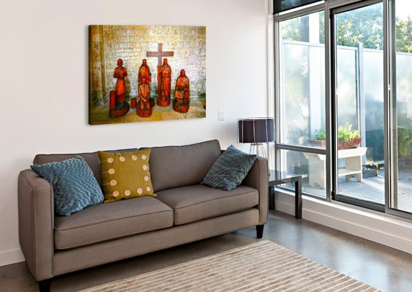 BASILICA OF SAINTE MARIE MADELEINE 5 OF 5 @  VEZELAY FRANCE 1NORTH  Canvas Print