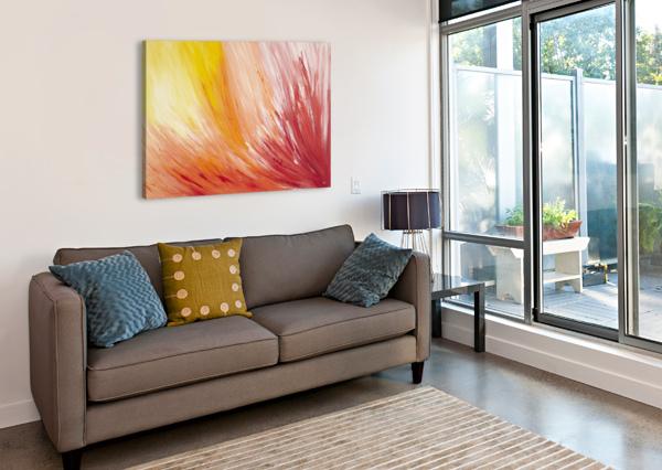 CLOSEST VIEW AT  A  FLOWER. MARTINE HARRIS  Canvas Print