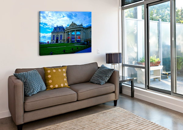 CHATEAUS OF FRANCE 8 1NORTH  Canvas Print