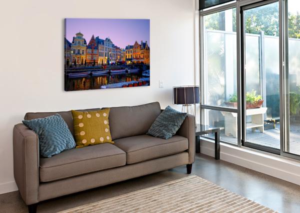 I DREAMED OF BELGIUM 360 STUDIOS  Canvas Print