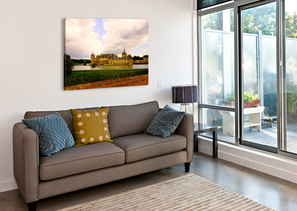 CHATEAUS OF FRANCE 360 STUDIOS  Canvas Print