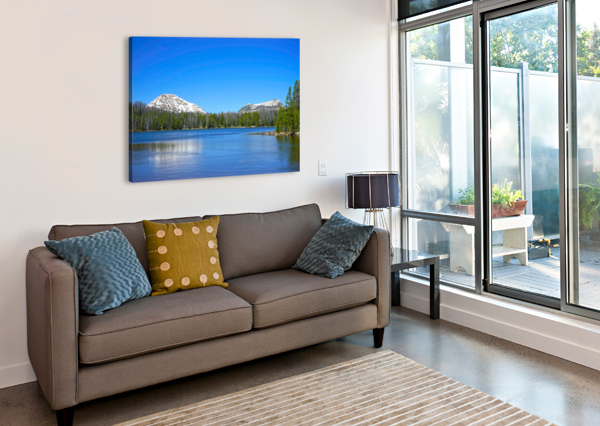 MIRROR LAKE 360 STUDIOS  Canvas Print