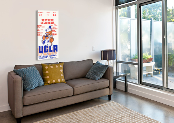 1944 USC VS. UCLA ROW ONE BRAND  Canvas Print