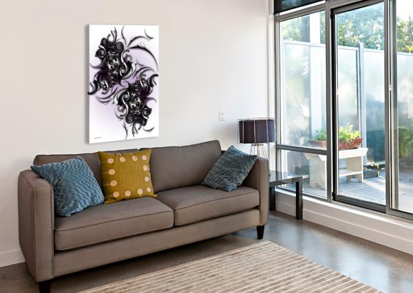 MY ARCHITECTONIC ILLUMINATION CARMEN FINE ART  Canvas Print
