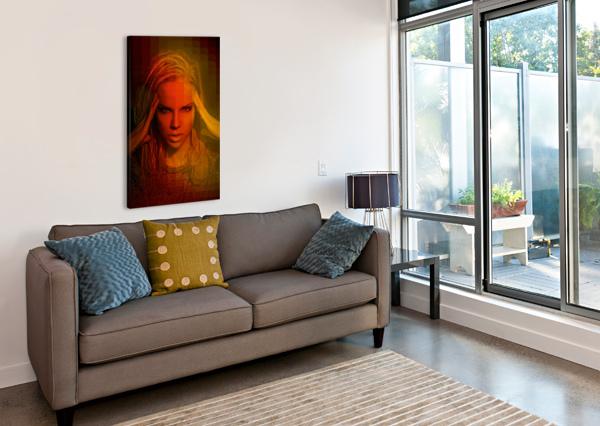 DO YOU WANNA FUNK ARTMOOD VISUALZ  Canvas Print