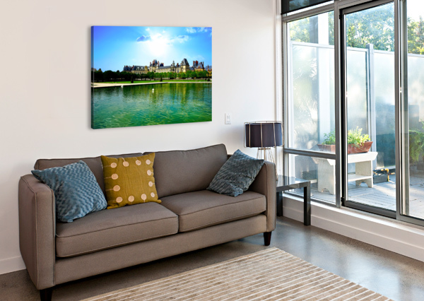 CHATEAUS OF FRANCE 24  Canvas Print