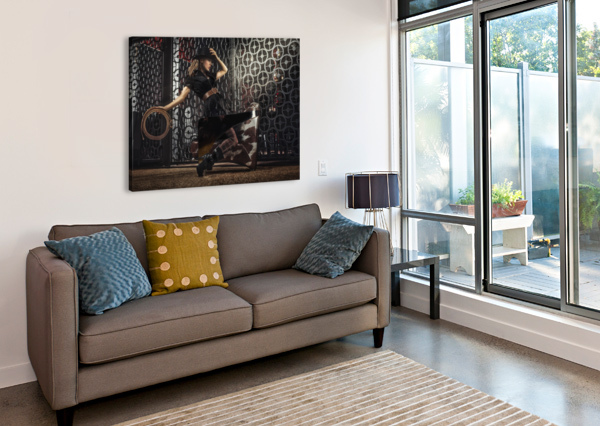 RANCH ARTMOOD VISUALZ  Canvas Print