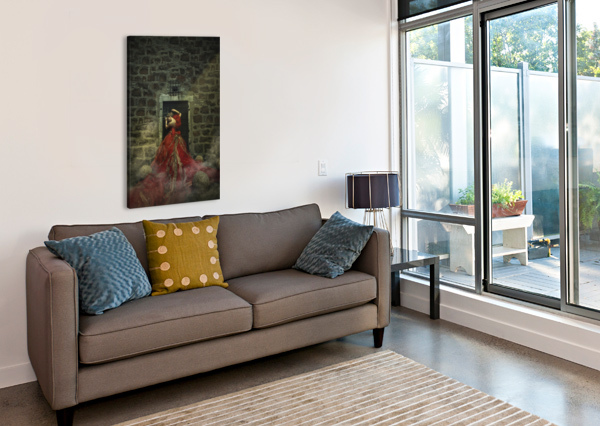 DUNGEON I ARTMOOD VISUALZ  Canvas Print