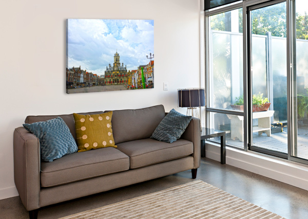 A DREAM OF THE NETHERLANDS 2 OF 4 1NORTH  Canvas Print