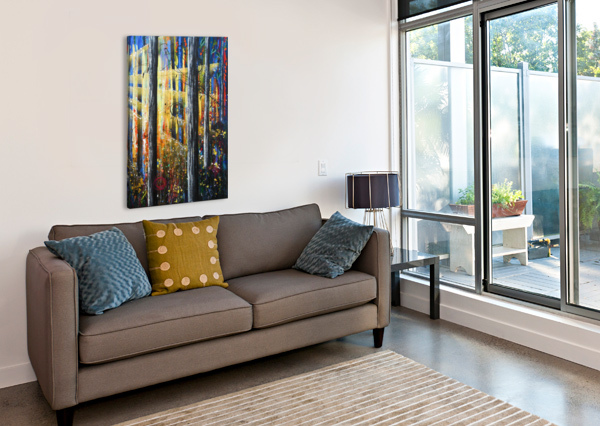 ASCENSION 2 ANGIE WRIGHT ART  Canvas Print