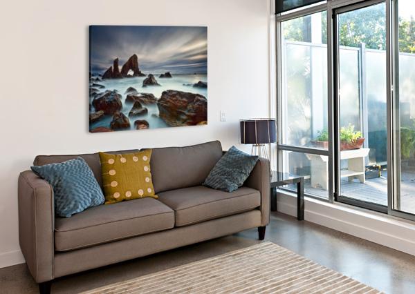 SEA ARCH AT CROHY HEAD BY DEREK SMYTH  1X  Canvas Print