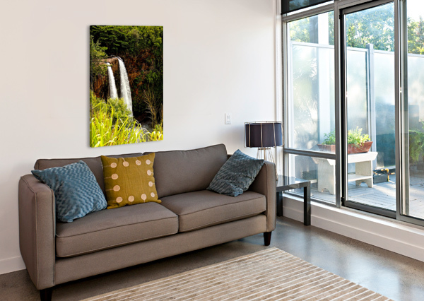 KAUAI WATERFALLS 24  Canvas Print