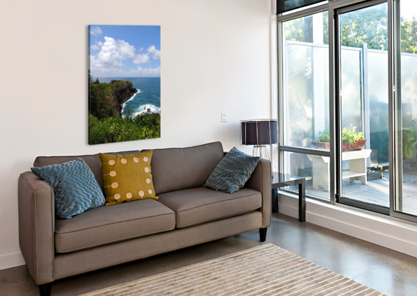KAUAI LIGHTHOUSE 24  Canvas Print