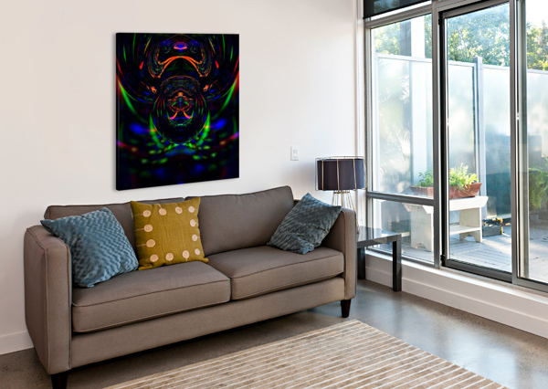 ABSTRACT   6FIGAHX  Canvas Print