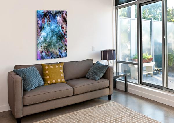 ICECAPADES HELMUT LICHT  Canvas Print