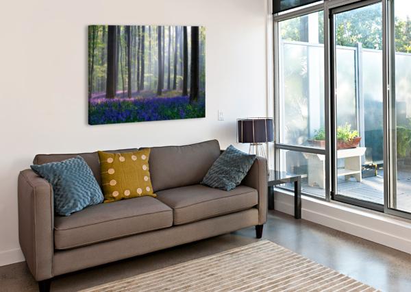 BLUEBELLS 1X  Canvas Print