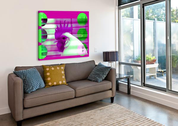 WAKE UP 2021 ALANA ROTHSTEIN  Canvas Print