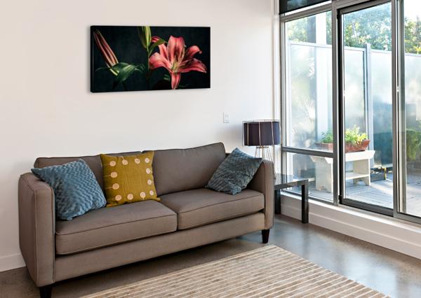 FLORAISON 1 DANIEL THIBAULT ARTISTE-PHOTOGRAPHE  Canvas Print