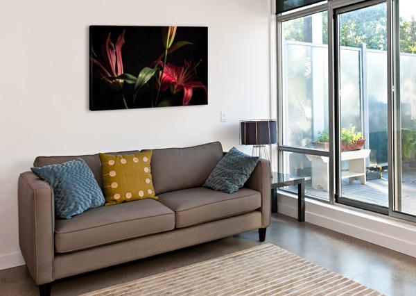 FLORAISON 2 DANIEL THIBAULT ARTISTE-PHOTOGRAPHE  Canvas Print