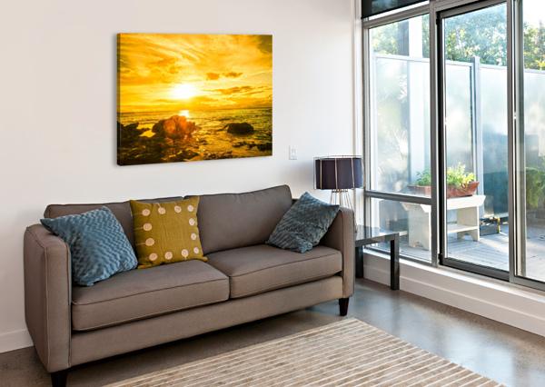 MAJESTIC SUNSET 1NORTH  Canvas Print