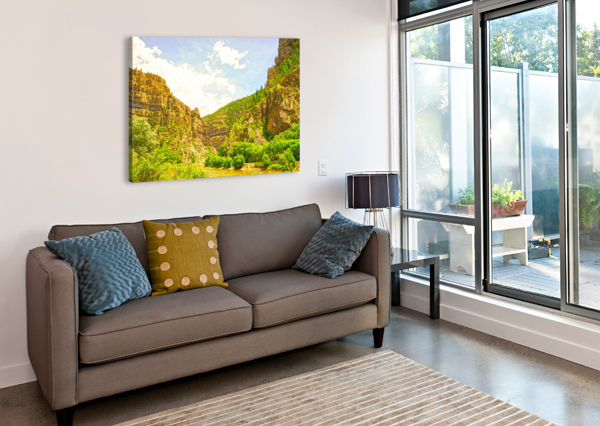 GOLDEN COLORADO 2 1NORTH  Canvas Print