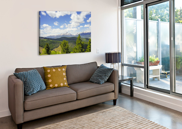 BACK COUNTRY COLORADO 1 OF 8 24  Canvas Print
