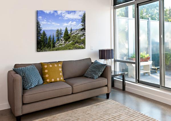 SPRING AT LAKE TAHOE 5 OF 7 24  Canvas Print