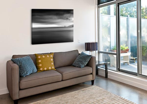 CALMING SEAS WESLEY ALLEN SHAW  Canvas Print