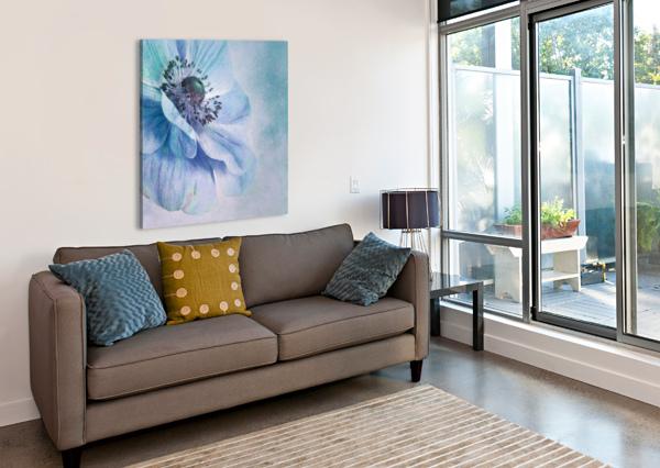 SHADES OF BLUE BY PRISKA WETTSTEIN  1X  Canvas Print