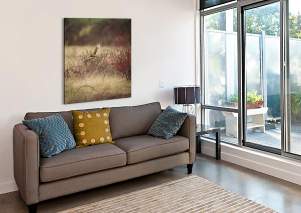 WESLEY ALLEN SHAW 02085 WESLEY ALLEN SHAW  Canvas Print