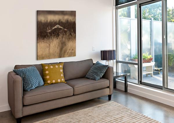 WESLEY ALLEN SHAW 02245 WESLEY ALLEN SHAW  Canvas Print