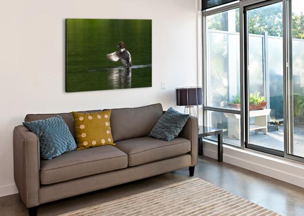 WESLEY ALLEN SHAW 09988 WESLEY ALLEN SHAW  Canvas Print