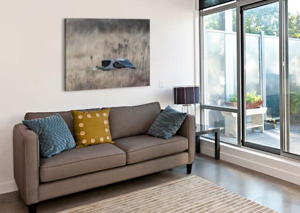WESLEY ALLEN SHAW 09384 WESLEY ALLEN SHAW  Canvas Print