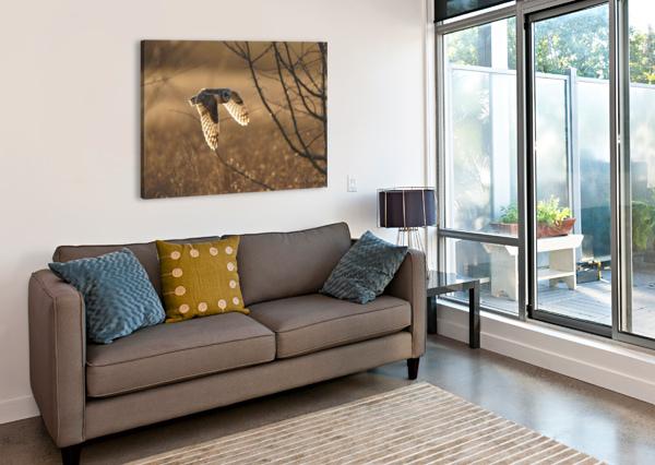 WESLEY ALLEN SHAW 08859 WESLEY ALLEN SHAW  Canvas Print