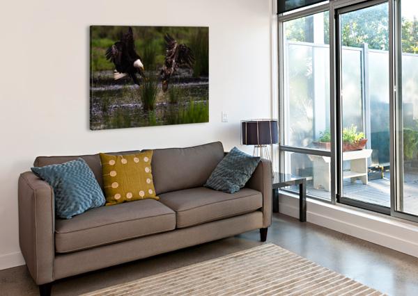WESLEY ALLEN SHAW 04816 WESLEY ALLEN SHAW  Canvas Print