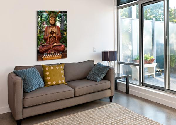 BUDDHA WESLEY ALLEN SHAW  Canvas Print