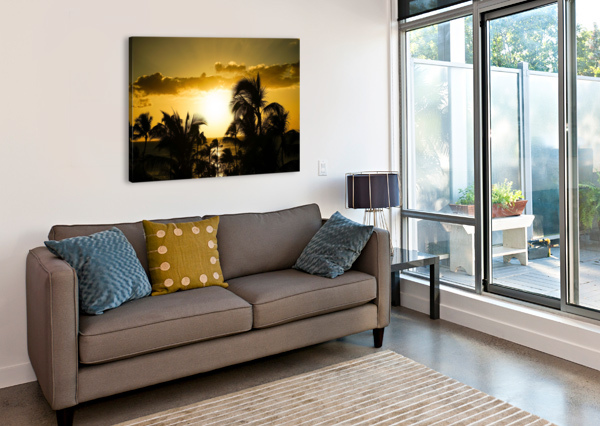 RADIANT HAWAII 24  Canvas Print