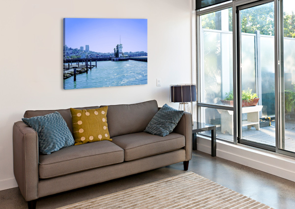 SAN FRANCISCO BAY 1NORTH  Canvas Print