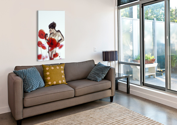 RED 1X  Canvas Print